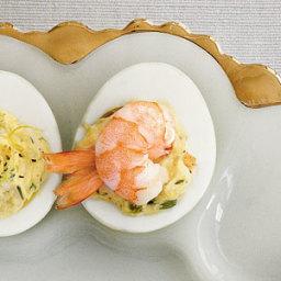 Creole Shrimp Deviled Eggs