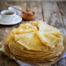 Crêpes faciles et délicieuses