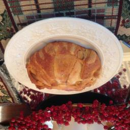Crescent-wrapped Brie (from Pillsbury)