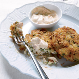 Crisp Crab Cakes with Chipotle Mayonnaise