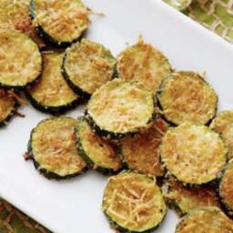 Crisp Zucchini Bites, Zucchini crisps, Zucchini rings, Aioli Dip