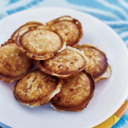 Crispy Arepitas with Mozzarella and Chorizo