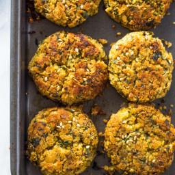 Crispy Baked Falafel