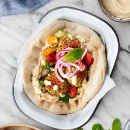 Crispy Baked Falafel Recipe