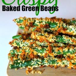 Crispy Baked Green Beans Recipe