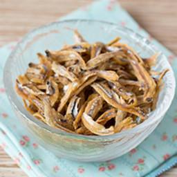 Crispy Baked Ikan Bilis (Anchovies)