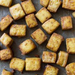 Crispy Baked Tofu (Smitten Kitchen)