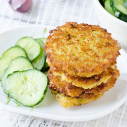 Crispy Cheese Fritters