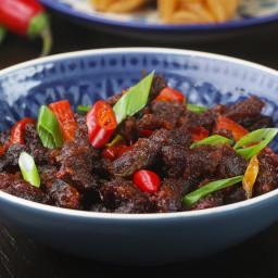 Crispy Chili Beef Recipe by Tasty