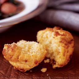 Crispy Cornmeal-Gruyère Muffins