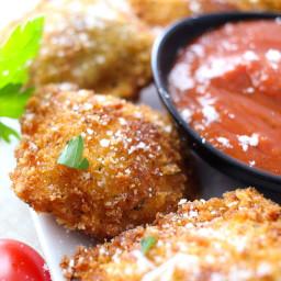 Crispy Fried Ravioli