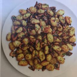 Crispy Gnocchi with Mushrooms