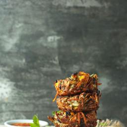 Crispy Hash Brown Haystacks
