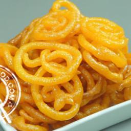 Crispy Jalebi Recipe using Rava