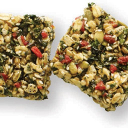 Crispy Kale Bars
