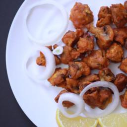 Crispy Mushroom 65 Recipes   Mushroom Pakoda   Mushroom Pakora