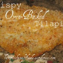 Crispy Oven-Baked Tilapia