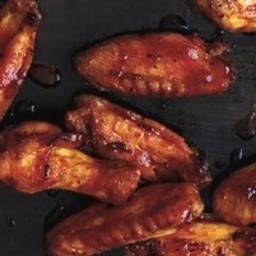 Crispy Oven-Baked Wings With Sriracha-Honey Glaze