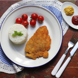 Crispy Panko Chicken Cutlets