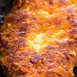Crispy Parmesan Crusted Chicken