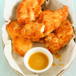 Crispy Parmesan Panko Chicken Tenders