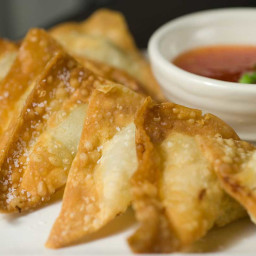 Crispy Pork Wontons Recipe