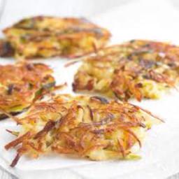 Crispy Potato-leek Rosti