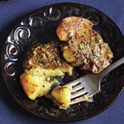 Crispy Potatoes with Lemon and Lots of Oregano