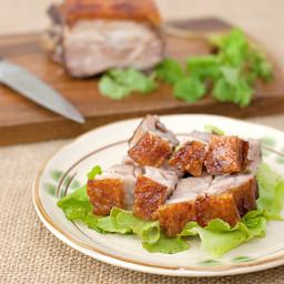 Crispy Roast Pork Belly (Siu Yuk) Recipe