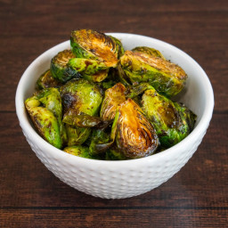 Crispy Roasted Balsamic Brussel Sprouts Recipe