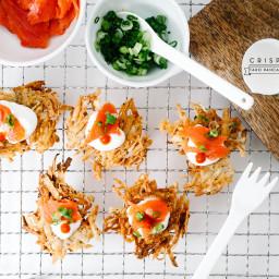 Crispy Taro Pancakes Recipe