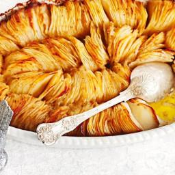 Crispy-topped potato bake