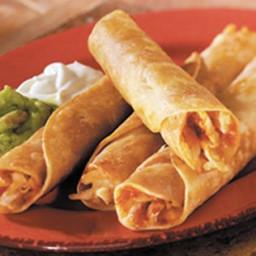 Crispy Tortilla Rolls