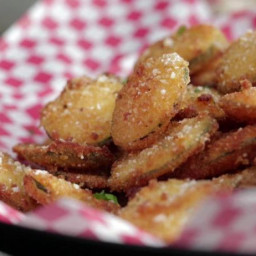 Crispy Zucchini Chips with Parmesan