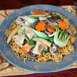 Crispy Chow Mein Noodles