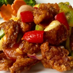 Crispy Sweet And Sour Pork