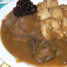 Croatian boar casserole