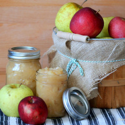 Crock-Pot Applesauce (No Sugar Added)