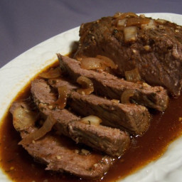 Crock Pot Beef N Beer Brisket