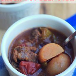 Crock-Pot Beef Stew {Keto/Low Carb}