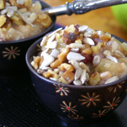 Crock Pot Breakfast Apple Pie Oats