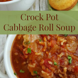 Crock Pot Cabbage Roll Soup Recipe