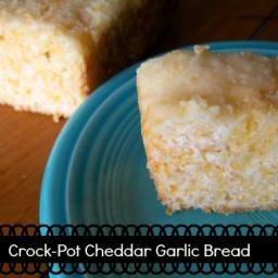 Crock-Pot Cheddar Garlic Bread