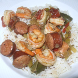 Crock Pot Chicken and Sausage Gumbo With Shrimp