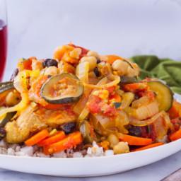 Crock Pot Chicken Casablanca (Ww Flex and Almost Core)
