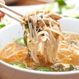 Crock Pot Chicken Pho