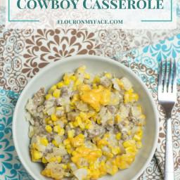 Crock Pot Cowboy Casserole
