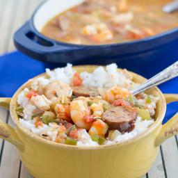 Crock Pot Creole Jambalaya