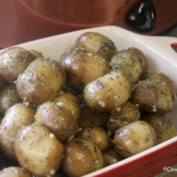 Crock-Pot Garlic Parsley Potatoes Recipe