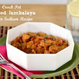 Crock-Pot Loaded Jambalaya